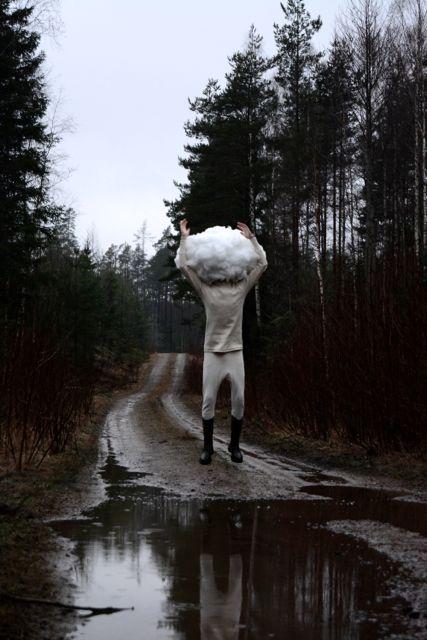 Huvudet i moln