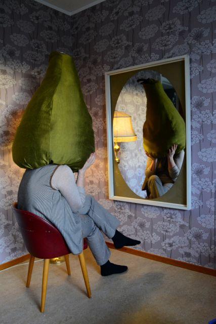 huvudet i päron
